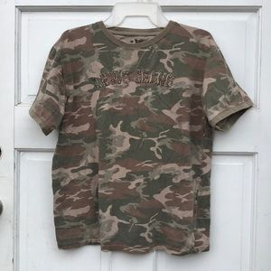 Levi's Redtab Jeans Camouflaged Camo Tee L 16/18
